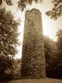 Round Tower on Rams Island Lough Neagh